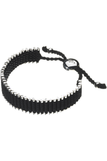 Friendship Bracelet in Black at Tourneau