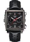 Monaco Automatic Chronograph with Vintage Grey Titanium Carbide by Tag