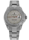 Used Rolex watch - Stainless Steel and Platinum Yachtmaster Automatic