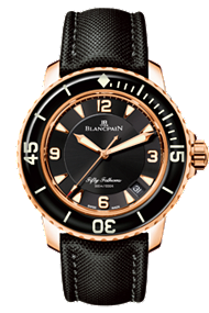 Blancpain watch Fifty Fathoms Automatic Red Gold