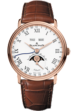 Villeret Complete Calendar '8 Jours' Rose Gold Limited Edition at Tourneau