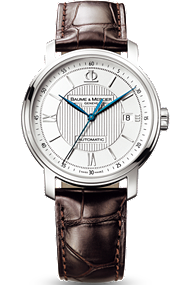 Baume & Mercier brown Classima watch