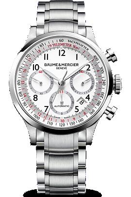 Baume & Mercier Steel Capeland Watch