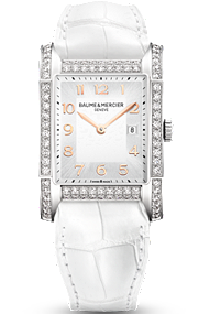 Baume & Mercier Watch - white Hampton
