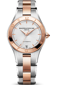 Baume & Mercier two-tone Linea watch