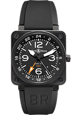 Bell & Ross watch Aviation GMT