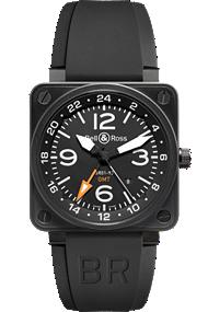 Bell & Ross watch Aviation GMT