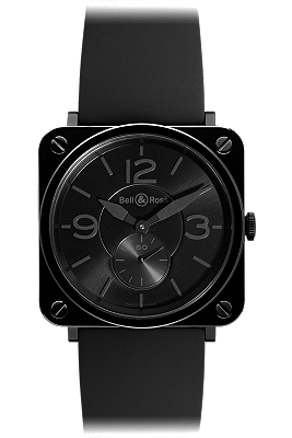 Bell & Ross Black Ceramic Phantom BRS-BLK-PHANT-RB