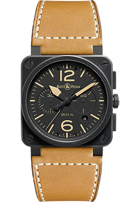 Bell & Ross watch - Aviation Heritage Chronograph