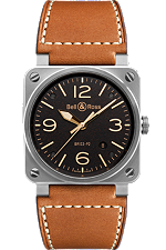 Bell & Ross BR 03-92 Golden Heritage | BR0392-ST-G-HE/SCA at Tourneau