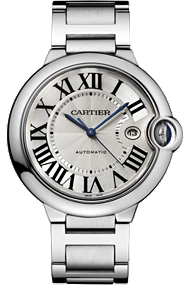 Ballon Bleu de Cartier - Large Model, Automatic, Steel at Tourneau