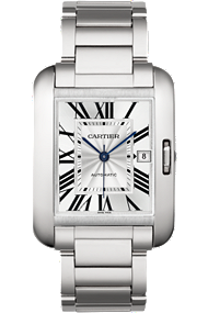 shop cartier watches - Tank Anglaise - Large