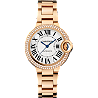Ballon Bleu de Cartier, Automatic Pink Gold, Diamonds