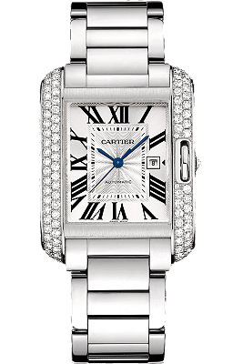 Shop Cartier watches - Tank Anglais