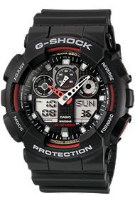 Casio Ana-Digi G-Shock watch at Tourneau