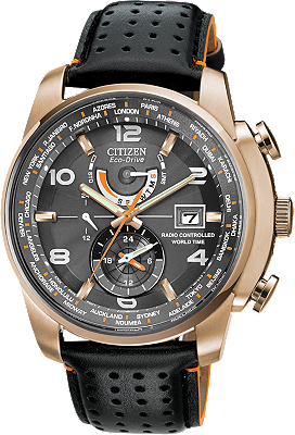 Eco-Drive World Time A-T at Tourneau