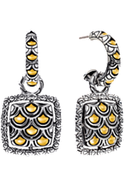 Naga Gold & Silver Earrings at Tourneau
