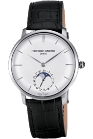 FC-705S4S6 Frederique Constant Slim Line Moonphase Frederick