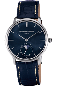 FC-705N4S6 Frederique Constant Slim Line Moonphase Frederick