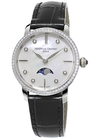 Frederique Constant | Ladies Slimline Moonphase | FC-206MPWD1SD6