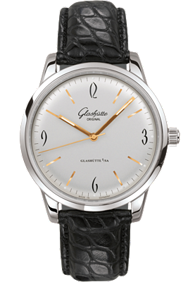 sixties automatic watch by glashutte