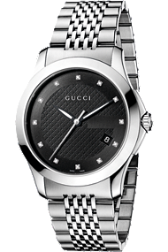 G-Timeless Steel with Diamonds at Tourneau