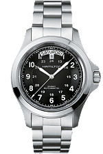 hamilton men's watch - khaki king