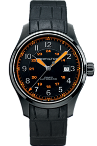Hamilton Men's Watch - Khaki Field Automatic 44mm