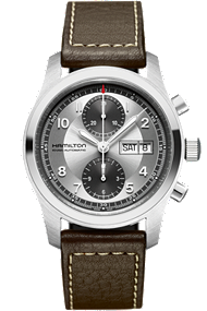 Hamilton Men's Watch - Khaki Field Auto chrono 42mm