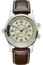 hamilton men's watch - khaki navy skymaster