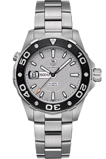 TAG Aquaracer 500 Automatic 43mm by Tag Heuer at Tourneau