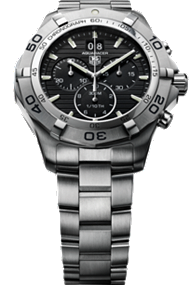 Tag Aquaracer Grande Date Chronograph 43mm watch