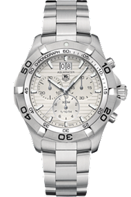 Tag Aquaracer Grande Date Chronograph 43mm at Tourneau