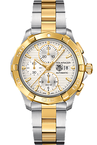 Aquaracer Automatic Chronograph at Tourneau