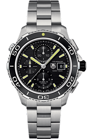 Aquaracer 500M Chronograph at Tourneau