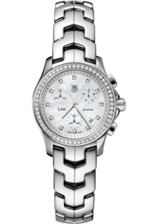Link Diamond Quartz Chronograph 33 mm