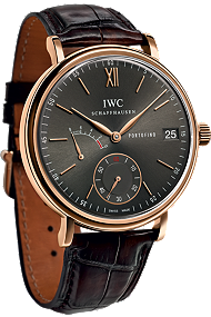IWC Portofino Hand-Wound Eight Day 18K Red Gold watch