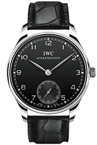 IWC Portuguese Hand-Wound Stainless Steel Watch