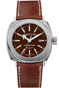 JEANRICHARD Terrascope Brown Dial | 60500-11-B01HDP0