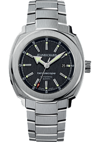 JEANRICHARD Terrascope Black Dial | 60500-11-601-11A