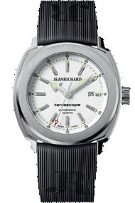 JEANRICHARD Terrascope White Dial | 60500-11-701FK6A