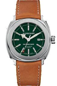 JEANRICHARD Terrascope Green Dial | 60500-11-A01HDC0