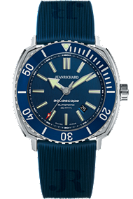JEANRICHARD Aquascope Blue Dial | 60400-11D401FK4A