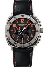 JEANRICHARD Aeroscope Black Dial | 60650-21F613HP60