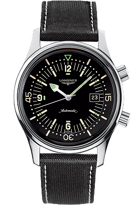 The Longines Legend Diver at Tourneau