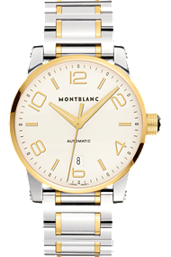 Montblanc TimeWalker Automatic Steel Gold | 106502