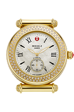 michele watches - caber diamond gold