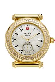 michele watches - caber diamond gold