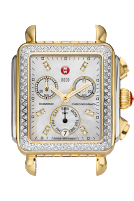 Michele Watches - Deco Day Diamond Bezel