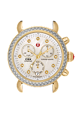 Michele Watches 0 CSX- 36 Day Diamond Two-Tone & Diamond Dial